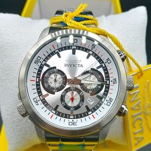 FIRM PRICE-INVICTA Specialty Chronograph Watch